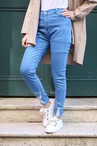 - Açık Mavi Kot Pantolon 1606-1 (1)