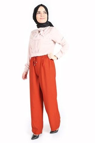 - Aerobin Bağcıklı Pantolon 60702-5 Kiremit