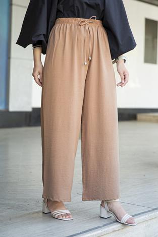 Aerobin Salaş Pantolon 190E-2810 Camel - Thumbnail