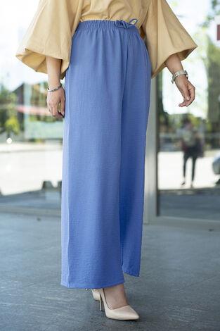 Aerobin Salaş Pantolon 190E-2810 Mavi - Thumbnail
