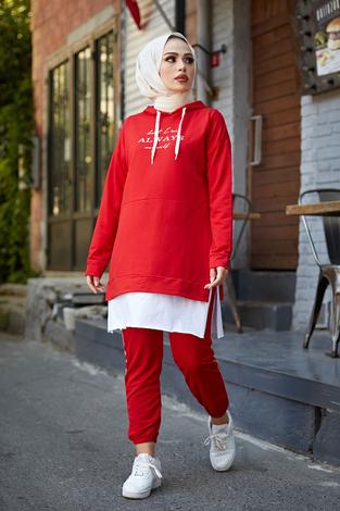 - AVEN Always Spor Takım 3076-8 Kırmızı
