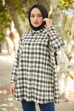 - MDI Kışlık Oduncu Gömlek 10024-1 Haki (1)