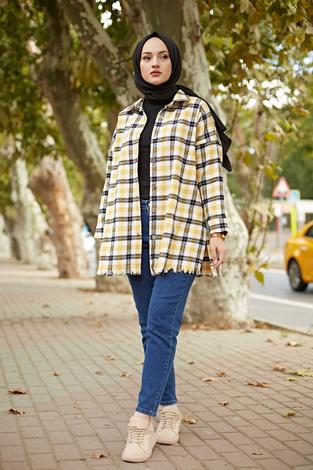 - MDI Kışlık Oduncu Gömlek 10024-2 Sarı
