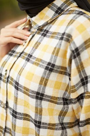 - MDI Kışlık Oduncu Gömlek 10024-2 Sarı (1)