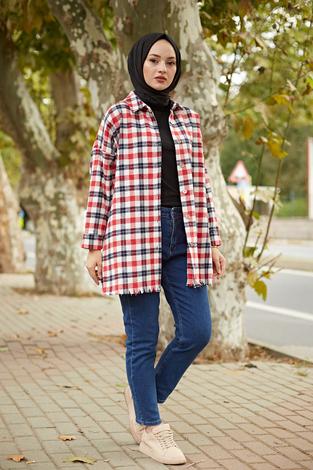 - MDI Kışlık Oduncu Gömlek 10024-3 Kırmızı