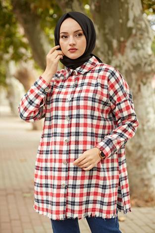 - MDI Kışlık Oduncu Gömlek 10024-3 Kırmızı (1)