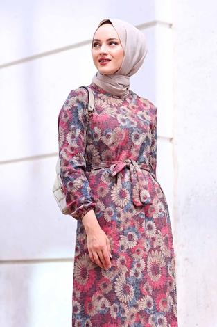 - AVEN Lazer Baskılı Elbise 1094-1 (1)