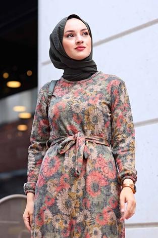 - AVEN Lazer Baskılı Elbise 1094-2 (1)