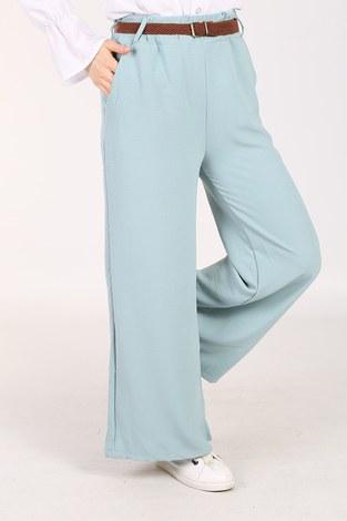 - Ayrobin Hasır Kemerli Pantolon 6090-4 Mint (1)