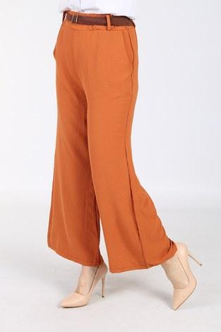 - Ayrobin Hasır Kemerli Pantolon 6090-6 Kiremit (1)