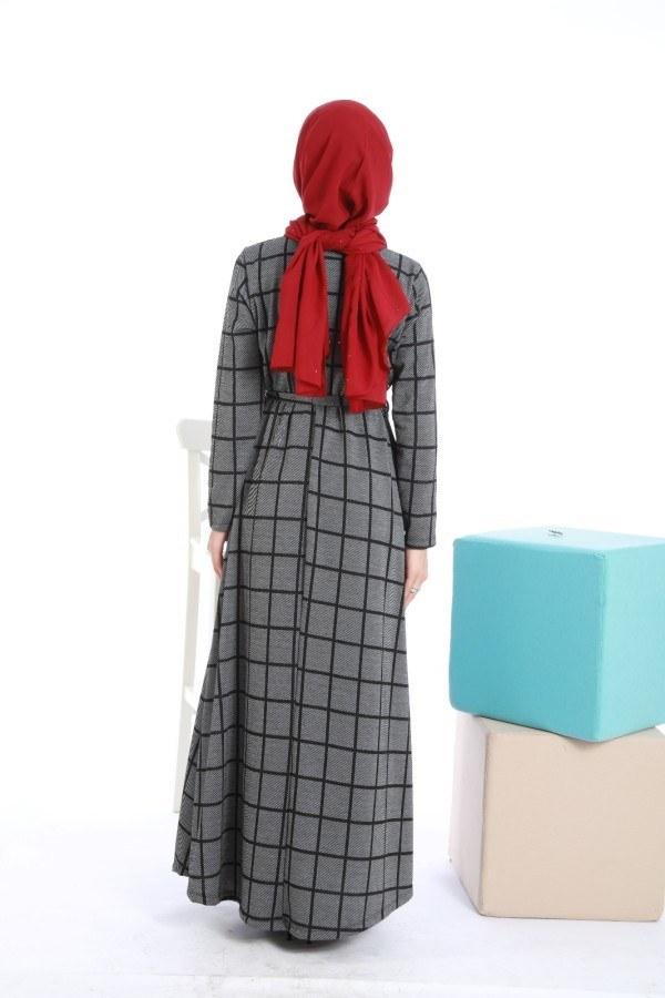 Balık Sırtı Elbise 5348-1