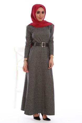 - Balık sırtı elbise 7522-04