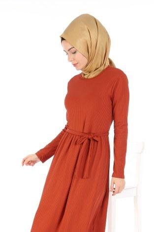 - Belden Kuşaklı Elbise EL6981-02 (1)