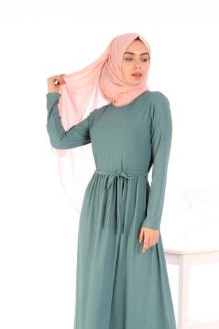 - Belden Kuşaklı Elbise EL6981-08 (1)