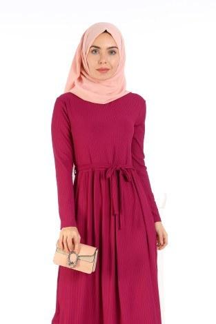 - Belden Kuşaklı Elbise EL6981-09 (1)