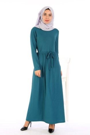 - Belden Kuşaklı Elbise EL6981-10