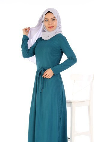 - Belden Kuşaklı Elbise EL6981-10 (1)