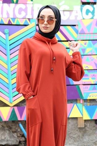 - Eteği Lastikli Spor Elbise 3109-15 taba (1)