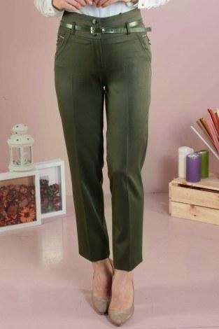 Beli Kemerli Pantolon 59100-2 - Thumbnail