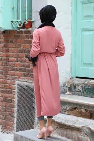 Beli Kuşaklı Kimono 7911-09 - Thumbnail