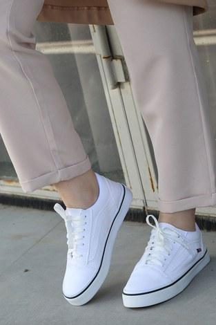 - Beyaz Spor Ayakkabı 6157-2 (1)