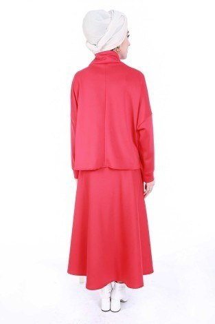 Bluz Etek İkili Takım 4585-3 - Thumbnail