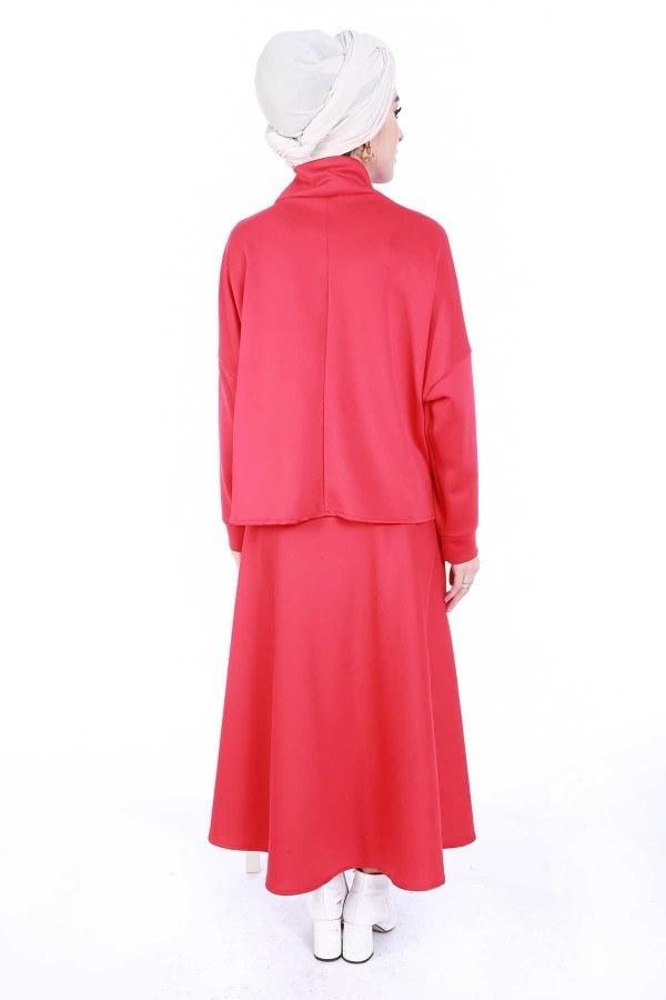 Bluz Etek İkili Takım 4585-3