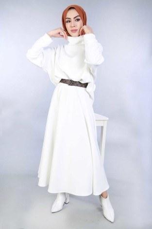 Bluz Etek İkili Takım 4585-4 - Thumbnail
