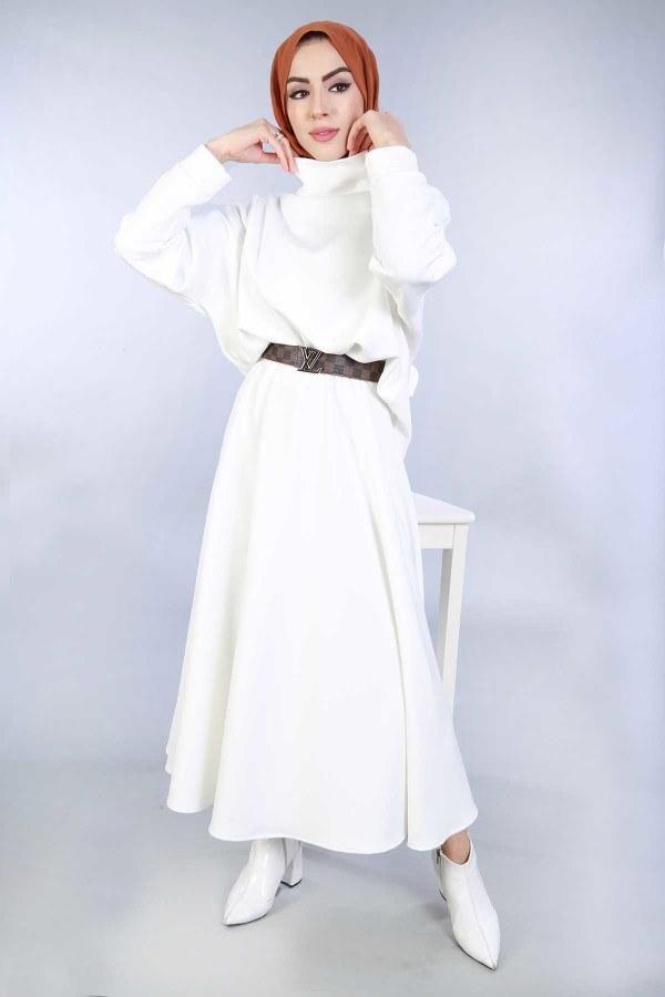 Bluz Etek İkili Takım 4585-4