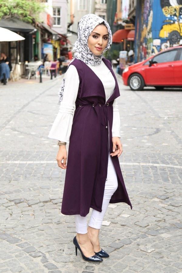 Bluz ve Yelek İkili Takım Elifnur 90366-2