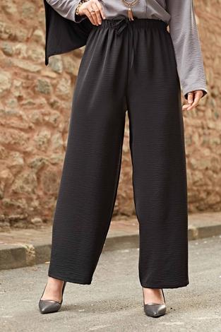 Bol Paça Aerobin Pantolon 120NY5629 Siyah - Thumbnail