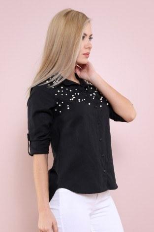 - Boncuklu Gömlek-17250-1-siyah (1)