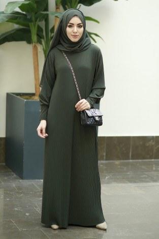 - Boydan Piliseli Elbise 8380-1