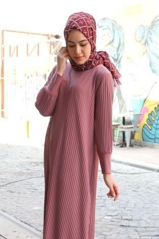 - Boydan Piliseli Elbise 8380-16 (1)