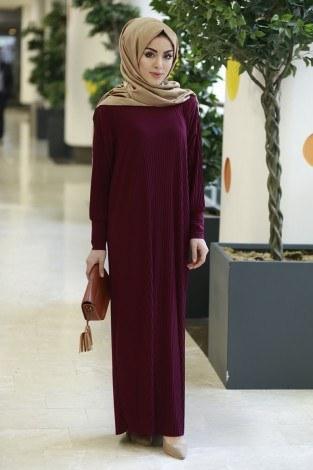 cf7e019fa55ee Tesettür Elbise Modelleri ve Fiyatları | Modasena.com