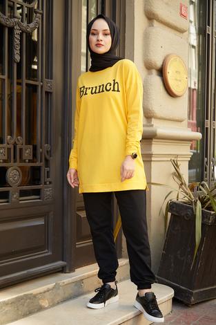 - Spor tunik 7462-5 Sarı