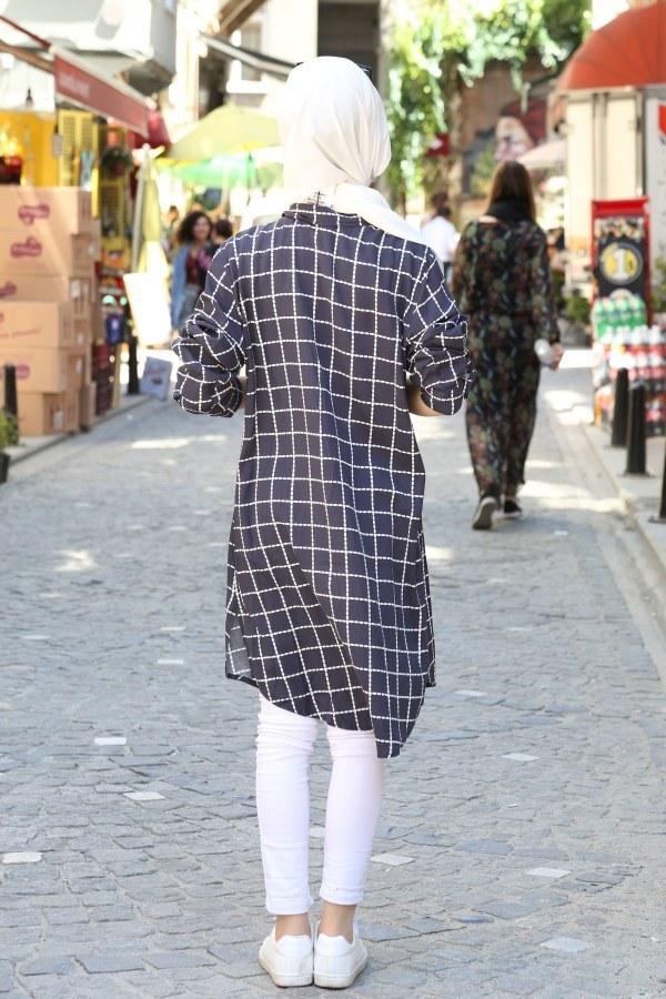 Cebi Taşli Desenli Gömlek 5728-03