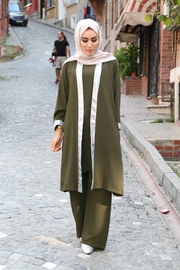 Ceket Tunik Pantolon 3'lü Takım 92285-01