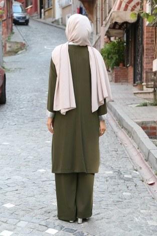 Ceket Tunik Pantolon 3'lü Takım 92285-01 - Thumbnail