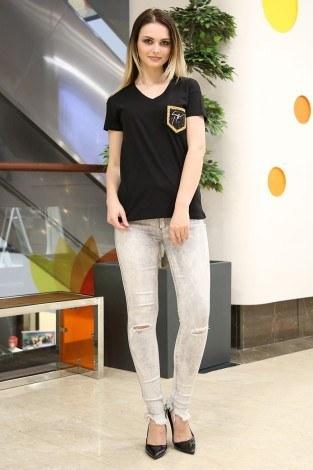- Cep Detaylı T-Shirt 1984-2 Siyah (1)