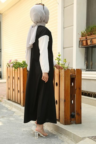 Cepli Spor Elbise 65744-1 Siyah - Thumbnail