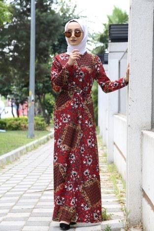 ae6bd594204c7 Tesettür Elbise Modelleri ve Fiyatları | Modasena.com