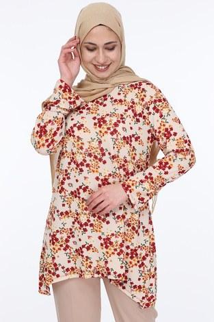 - Çiçek Desenli Tunik 5246-4 (1)