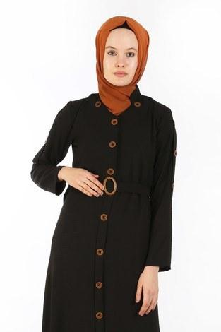 - Cift Düğmeli Elbise 6086-01 (1)
