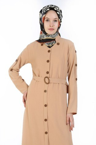 - Cift Düğmeli Elbise 6086-11 (1)