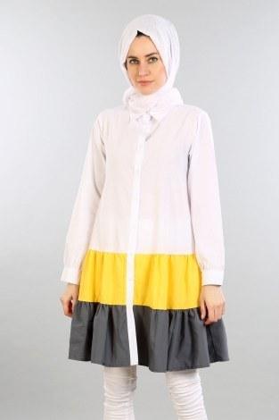 - Çift Renk Kat Kat Gömlek 2458-05 (1)