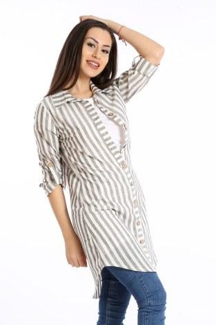 - Çizgili Gömlek Tunik 5667-01 (1)
