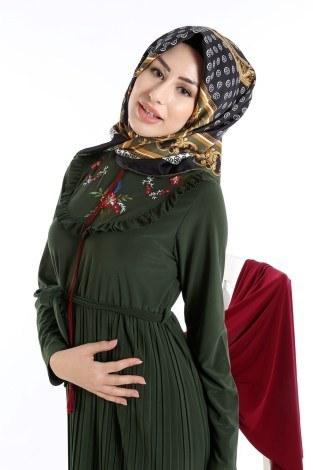 - Piliseli Nakışlı Elbise 1546-01 (1)