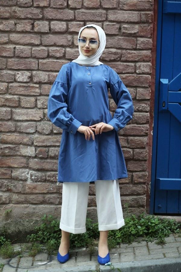 Cotton Gömlek 7189-08