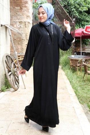 Abaya ferace 8309-01 - Thumbnail